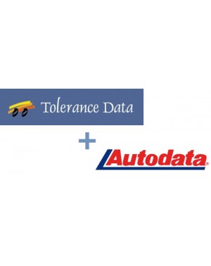 AUTODATA + TOLERANCE DATA