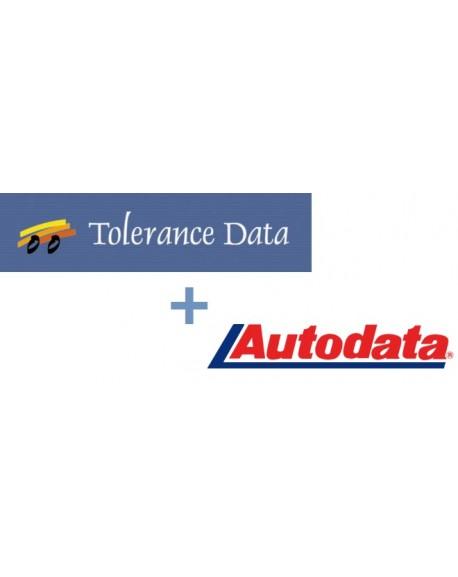 AUTODATA + TOLERANCE DATA